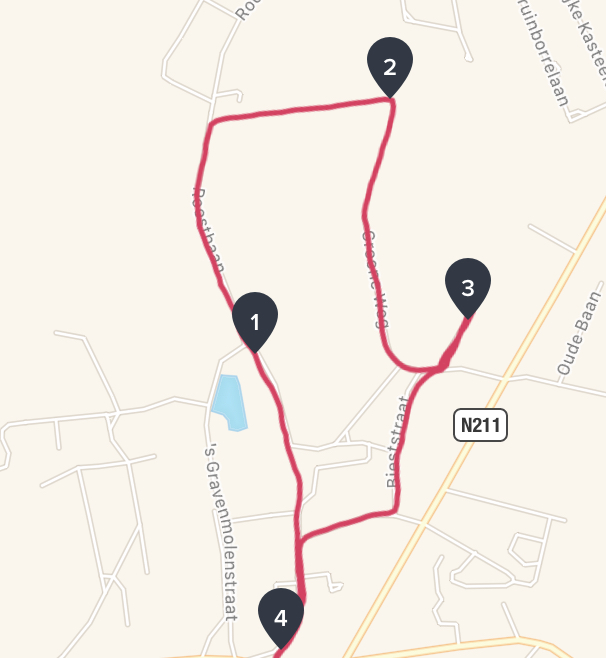 4,4km