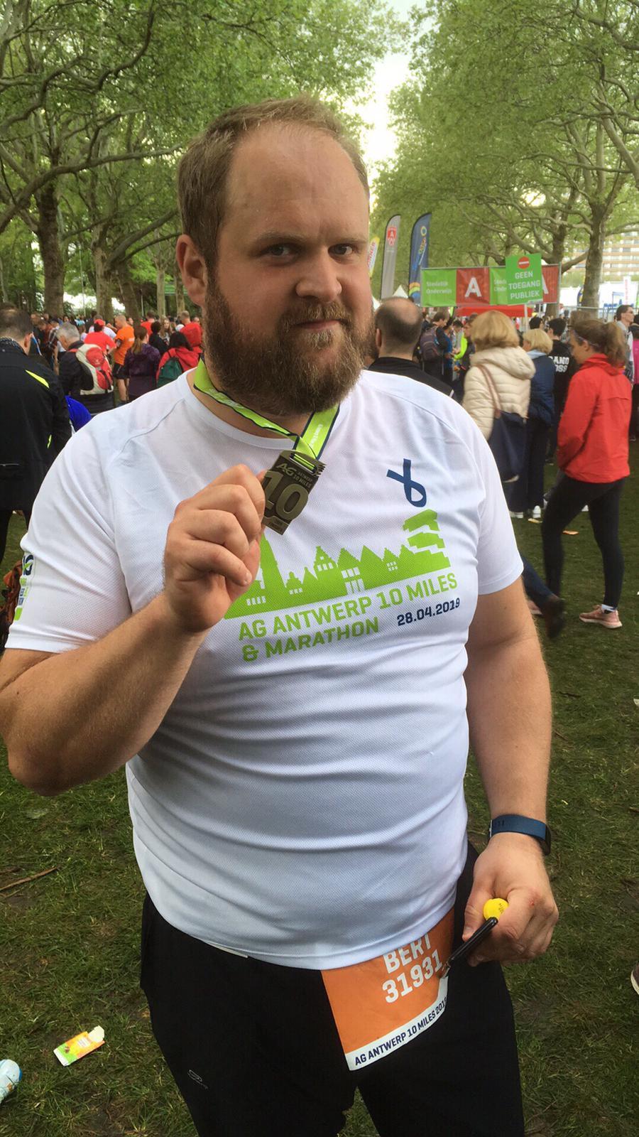 10 miles - finish