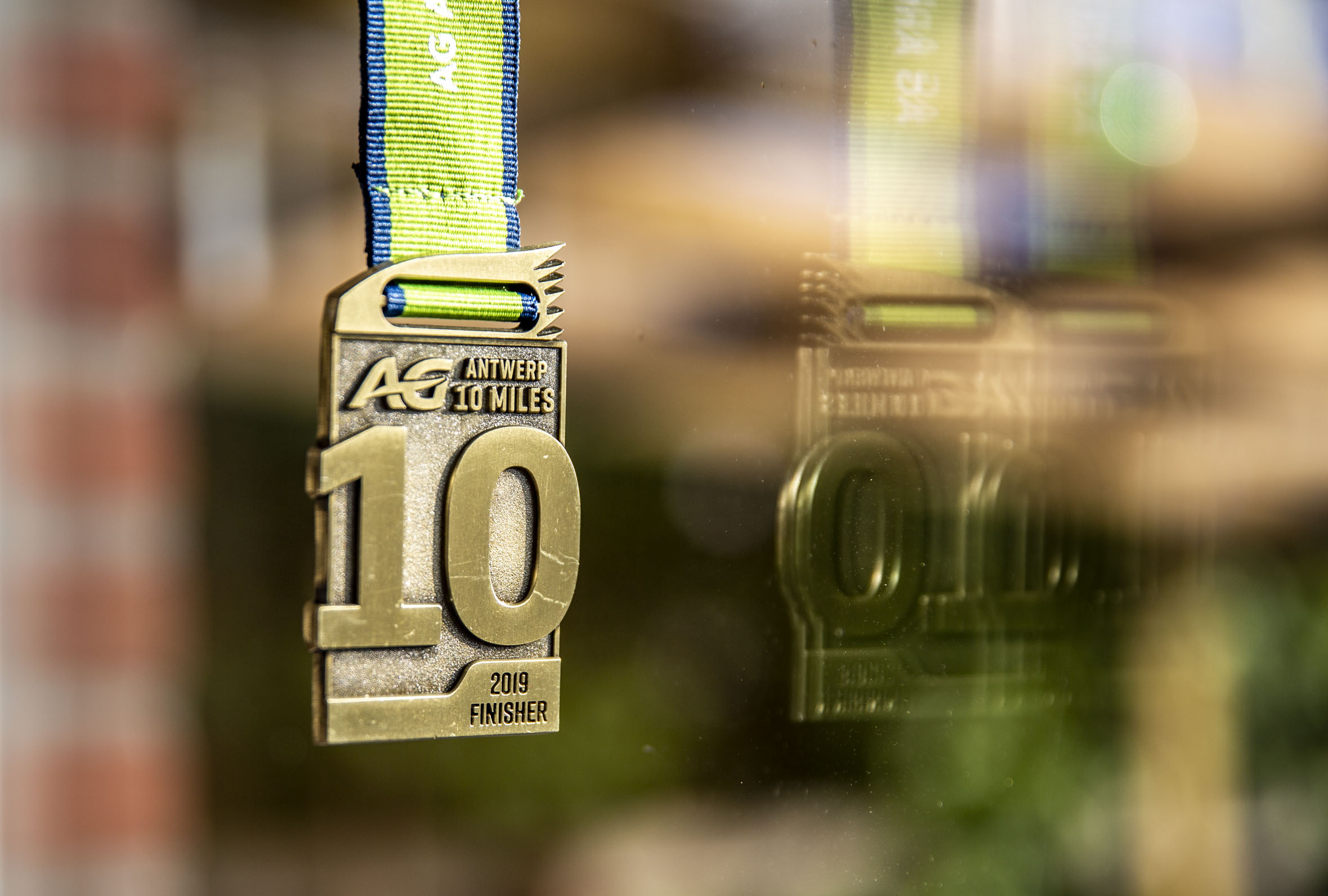10 Miles Medaille